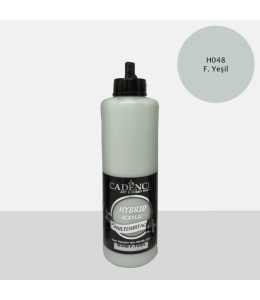 Гибридная акриловая краска Hybrid Acrylic 48 зеленый мох, 500 мл, Cadence