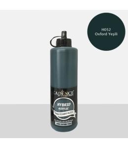Гибридная акриловая краска Hybrid Acrylic 52 оксфордский зеленый, 500 мл, Cadence