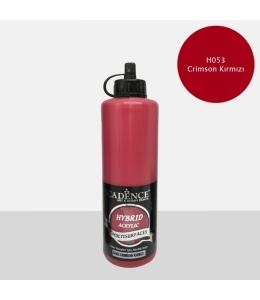 Гибридная акриловая краска Hybrid Acrylic 53 малиново-красный, 500 мл, Cadence