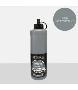 Гибридная акриловая краска Hybrid Acrylic 58 серый, 500 мл, Cadence