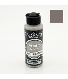 Гибридная акриловая краска Hybrid Acrylic 59 серо-коричневый, 70 мл, Cadence