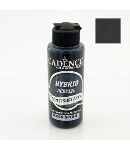 Гибридная акриловая краска Hybrid Acrylic 60 черный, 70 мл, Cadence