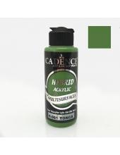 Гибридная акриловая краска Hybrid Acrylic 61 зеленый, 70 мл, Cadence