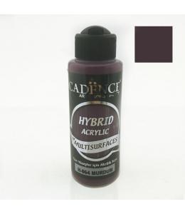 Гибридная акриловая краска Hybrid Acrylic 64 сливовый, 70 мл, Cadence