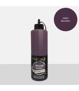 Гибридная акриловая краска Hybrid Acrylic 64 слива, 500 мл, Cadence