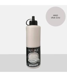Гибридная акриловая краска Hybrid Acrylic 65 серый горизонт, 500 мл, Cadence