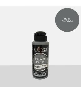 Гибридная акриловая краска Hybrid Acrylic 81 серый графит, 70 мл, Cadence