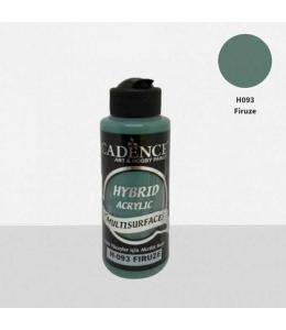 Гибридная акриловая краска Hybrid Acrylic 93 бирюза, 70 мл, Cadence