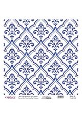 Рисовая бумага Blue Shades K031 плитка, Cadence 30х30 см