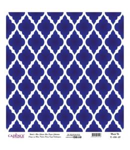 Рисовая бумага Blue Shades K036 плитка, Cadence 30х30 см