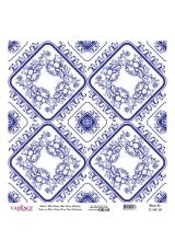 Рисовая бумага Blue Shades K041 плитка, Cadence 30х30 см