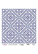 Рисовая бумага Blue Shades K043 плитка, Cadence 30х30 см