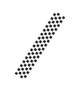 "Трафарет бордюр ""Шахматная клетка'"", 7,5х36 см, Cadence"