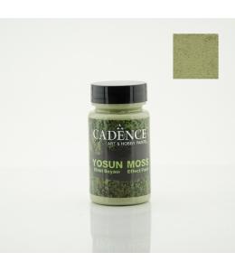 Краска с эффектом мха Moss Effect Paint, цвет светлый зелёный, 90 мл, Cadence