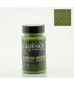 Краска с эффектом мха Moss Effect Paint, цвет темно-зеленый, 90 мл, Cadence