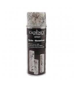 Спрей-краска для создания эффекта мрамора  Marble Spray 01 черный, 200 мл, Cadence (Турция)