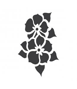 "Трафарет для росписи ""Цветы"", 10х15 см, Cadence"