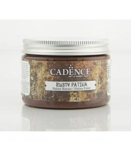 Краска с эффектом ржавчины Rusty Patina 01 коричневый, 150 мл, Cadence