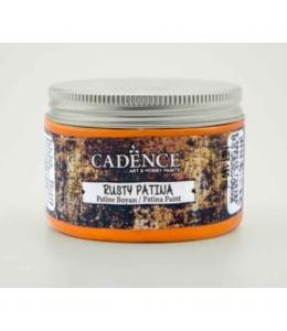Краска с эффектом ржавчины Rusty Patina 10 оранжевый, 150 мл, Cadence