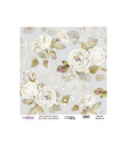 Рисовая бумага Universal Collection UC056 цветочная композиция, Cadence 30х30 см