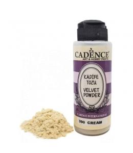 Пудра для создания бархатной поверхности Velvet Powder, кремовый, 120 мл, Cadence