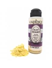 Пудра мерцающая бархатная Shimmer Velvet Powder золото, 120 мл Cadence