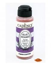 Пудра мерцающая бархатная Shimmer Velvet Powder медь, 120 мл Cadence