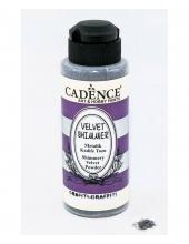 Пудра мерцающая бархатная Shimmer Velvet Powder графит, 120 мл Cadence