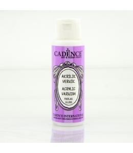 Лак финишный глянцевый Water Based Acrylic Varnish Gloss на водной основе, 70 мл, Cadence