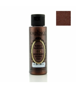 Краска для золочения Water Based Gilding Metallic шоколад, 70 мл, Cadence
