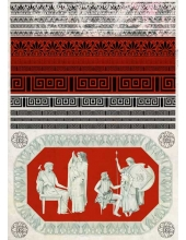 "Декупажная карта Calambour AD 03 ""Древний Рим"", 35х50 см"