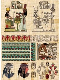 Декупажная карта Calambour AD 08 Древний Египет, 35х50 см