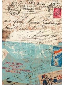 Рисовая бумага для декупажа Calambour DGR124 Письма и штампы, 33х48 см