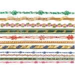 Рисовая бумага для декупажа Calambour DGR 149, Бордюры, 33х48 см