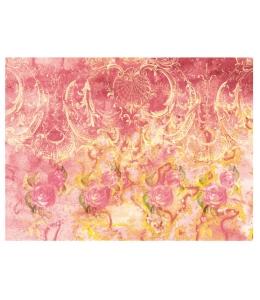 Рисовая бумага для декупажа Calambour DGR 025, Розы, орнамент, 33х48 см