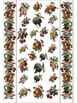 Декупажная карта Calambour EASY 036 Античные фрукты, 50х70 см