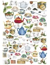 "Декупажная карта Calambour EASY 096 ""Чай"", 50х70 см"