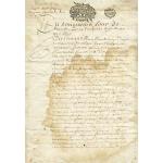 """Рисовая бумага для декупажа Calambour Pau-059 """"Старое письмо"""", 35х50 см"""