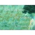 """Рисовая бумага для декупажа Calambour Pau-060 """"Голубое письмо и девушка"""", 35х50 см, 20 г/ м2"""