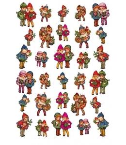 """Рисовая бумага для декупажа Calambour Pau-066, """"Дети"""", 35х50 см"""