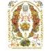 Декупажная карта Цепи и гирлянды из фруктов, стиль Print Room, 50х70 см