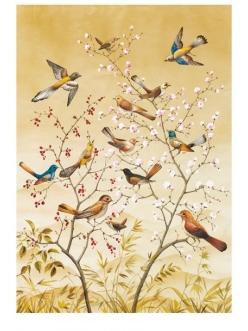 Рисовая бумага для декупажа Calambour RP 71 Дерево и птички, 35х50 см