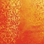 """Бумага дизайнерская для скрапбукинга Calambour SCRB318 """"Персидский орнамент, красный"""", 30,5х30,5 см"""