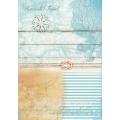 """Рисовая бумага для декупажа Calambour TCR 05 """"Море, путешествие"""", 35х50 см, 20 г/см2"""