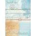 Рисовая бумага для декупажа Calambour TCR 05 Море, путешествие, 35х50 см