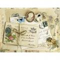 """Рисовая бумага CD01679 """"Старые письма"""", 28,2х38,4 см, Craft Premier (Россия)"""