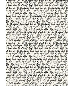 """Рисовая бумага """"Письмо"""" 21×29,7 см, Craft Premier"""