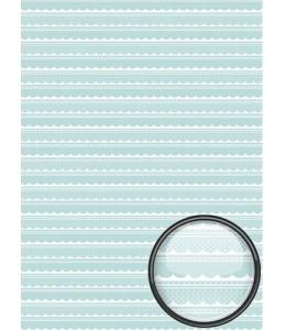 """Рисовая бумага CD05586 """"Кружева для малыша"""", 28,2х38,4 см, Craft Premier (Россия)"""