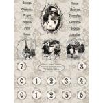 """Рисовая бумага CP00133 """"Вечный календарь"""", 28,2х38,4см, Craft Premier (Россия)"""