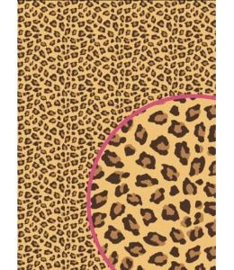 """Рисовая бумага """"Окрас леопарда"""", 21x29,7см Craft Premier"""